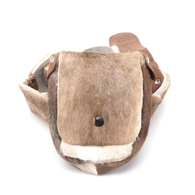 Reindeer Fur Belt Bag