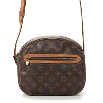 Louis Vuitton Sac Senlis Crossbody in Monogram Canvas and Vachetta Leather