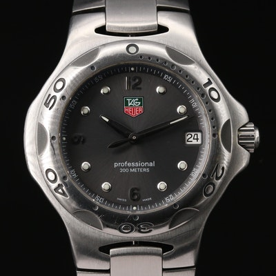 TAG Heuer Kirium Stainless Steel Quartz Wristwatch