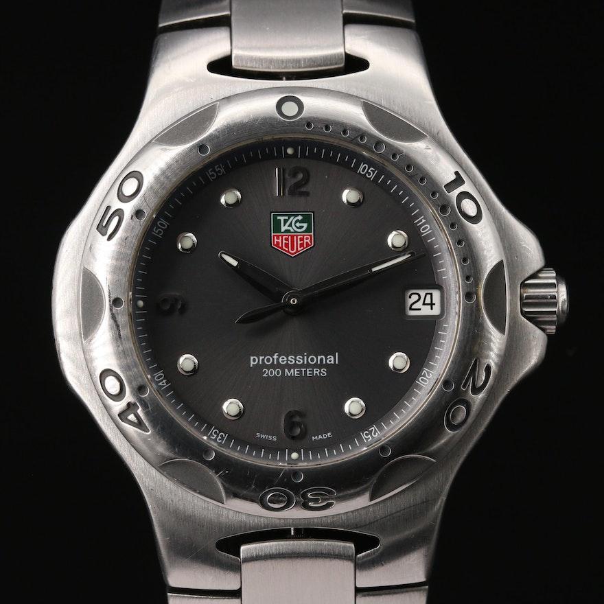 TAG Heuer Kirium Stainless Steel Quartz Wristwatch