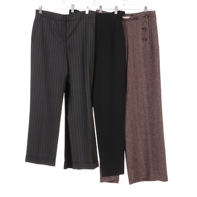Max Studio, Ozbek, and Gunex Dress Pants