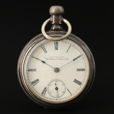 1900 American Waltham Pocket Watch