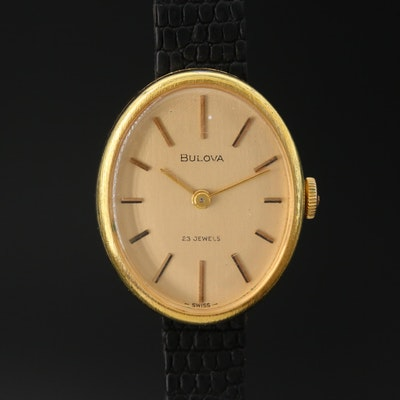 Vintage Bulova Stem Wind Wristwatch