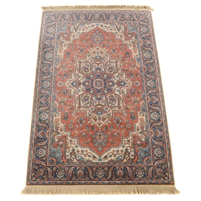 "5'9 x 9'10 Machine Made Karastan ""Antique Serapi"" Wool Area Rug"