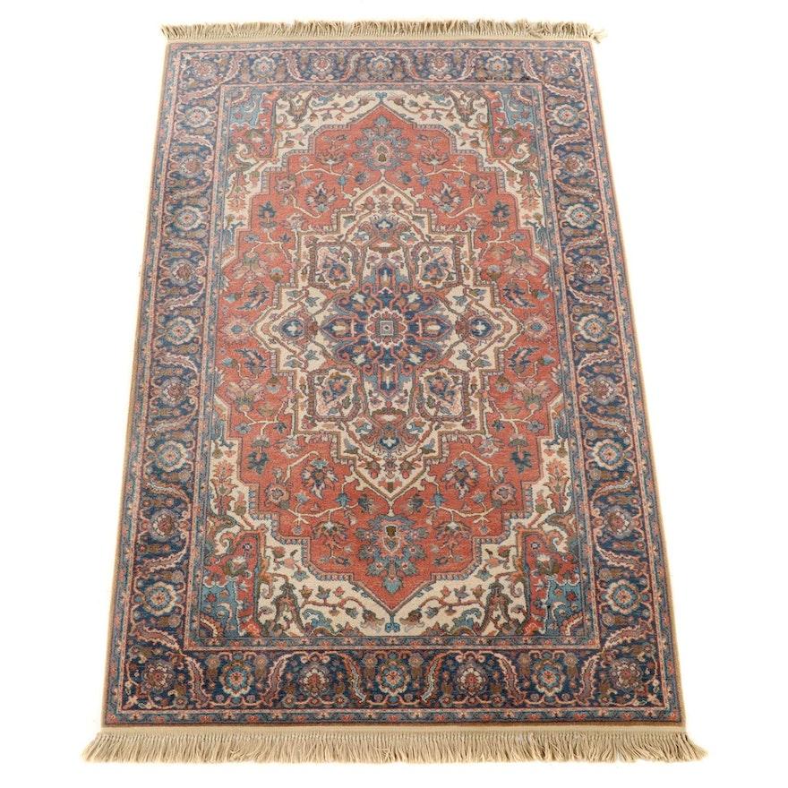 "5'9 x 9'10 Machine Made Karastan ""Antique Serapi"" Wool Area Rug"