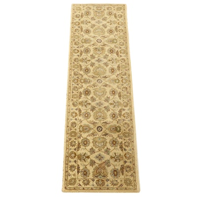 "2'6 x 8'11 Hand-Tufted Indian ""Sanya"" Wool Carpet Runner"