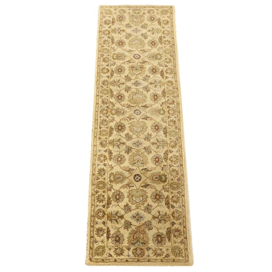"2'6 x 8'11 Hand-Tufted Indian ""Sanya"" Wool Carpet Runner"