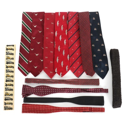 Burberry, Brooks Brothers, Orvis, and Other Neckties and Bow Ties