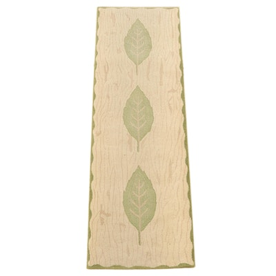"2'5 x 7'10 Hand-Tufted Kappa Lambda Rugs ""Laurier"" Wool Carpet Runner"