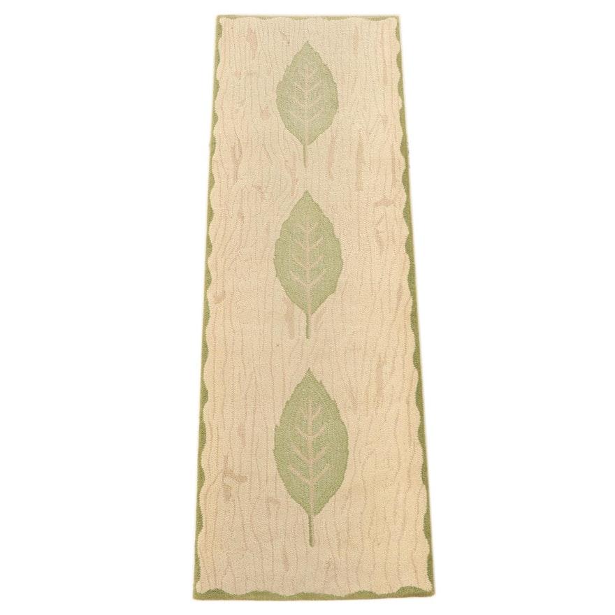 "2'5 x 7'10 Hand-Tufted Kappa Lambda Rugs ""Laurier"" Wool Carpet Runner"
