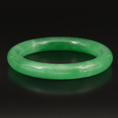 Jadeite Hololith Bangle