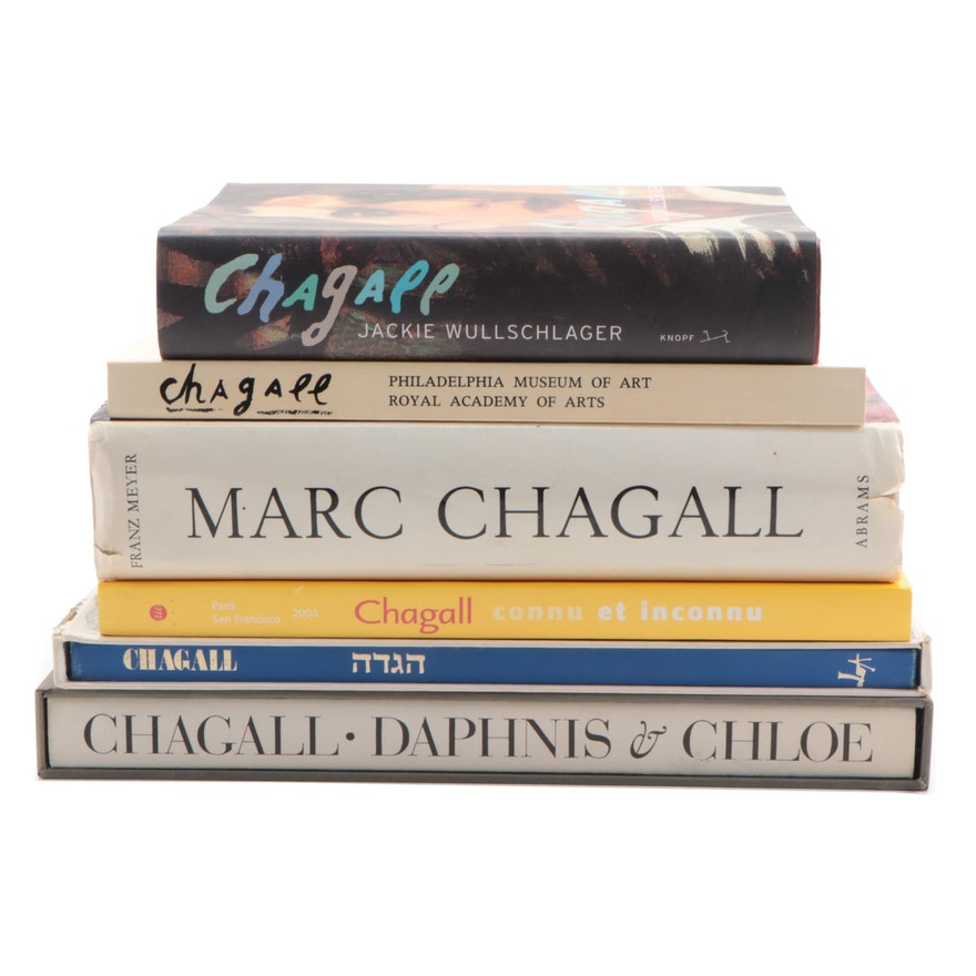 Marc Chagall Art Reference Books