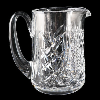 "Waterford Crystal ""Christmas Suite"" Pitcher, 1999"