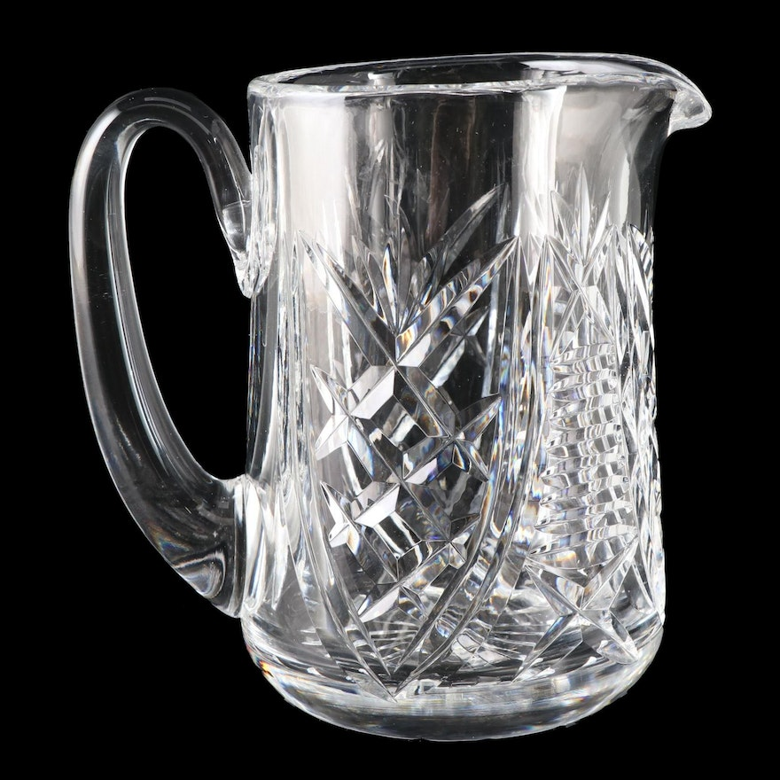 """Waterford Crystal """"Christmas Suite"""" Pitcher, 1999"""