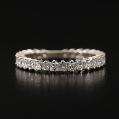 14K 1.00 CTW Graduated Diamond Band