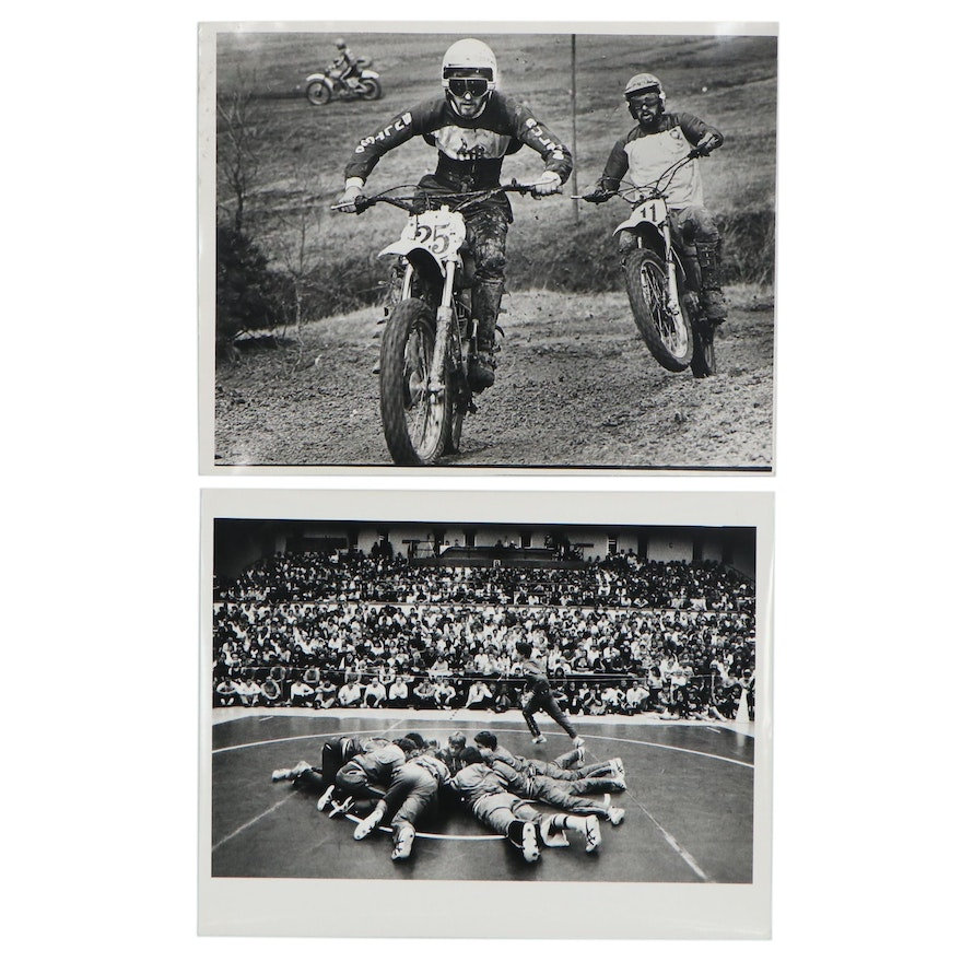 William D. Wade Silver Gelatin Prints of Sporting Events
