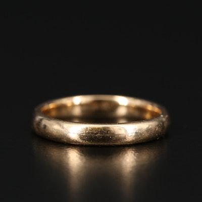 18K Gold Band