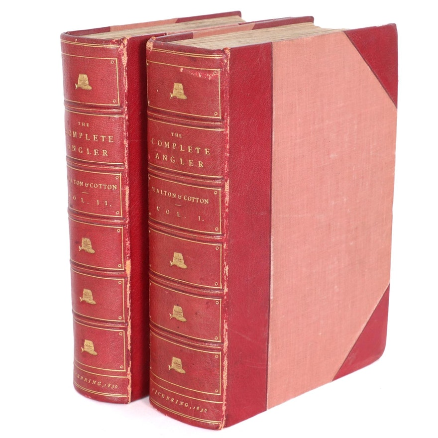"""""""The Complete Angler"""" Vol. I–II by Izaak Walton and Charles Cotton, 1836"""