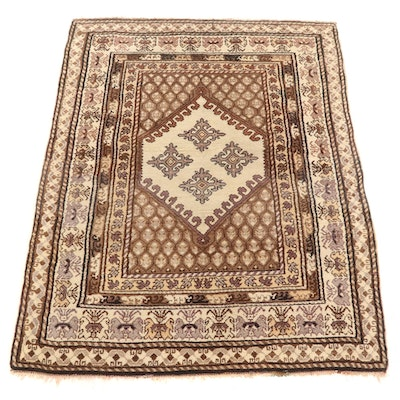 5'10 x 7'6 Hand Knotted Persian Area Rug