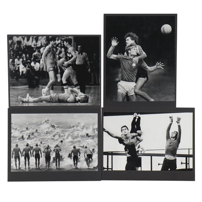 William D. Wade Silver Gelatin Prints of Athletes and Dancers