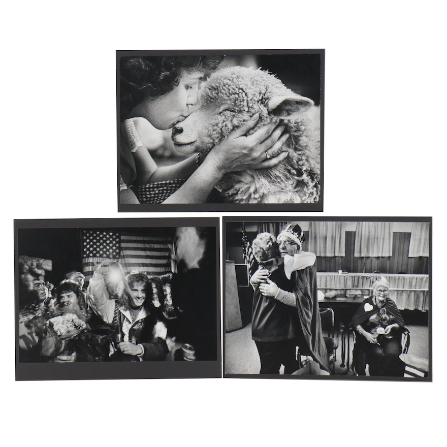 William D. Wade Figural Silver Gelatin Prints, Late 20th Century