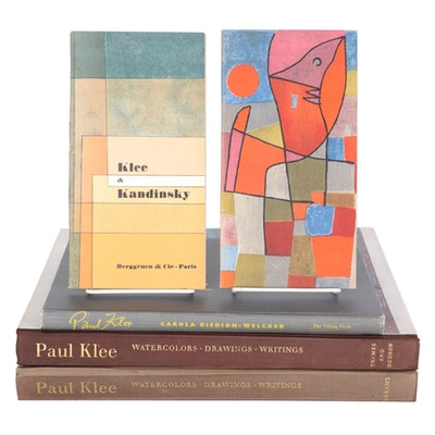 """The Inward Vision"" by Paul Klee and Other Paul Klee Book and Pamphlets"