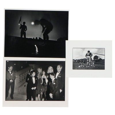 William D. Wade Silver Gelatin Prints of Wonder Years cast and more