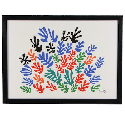 "Digital Print after Henri Matisse ""The Sheaf"""