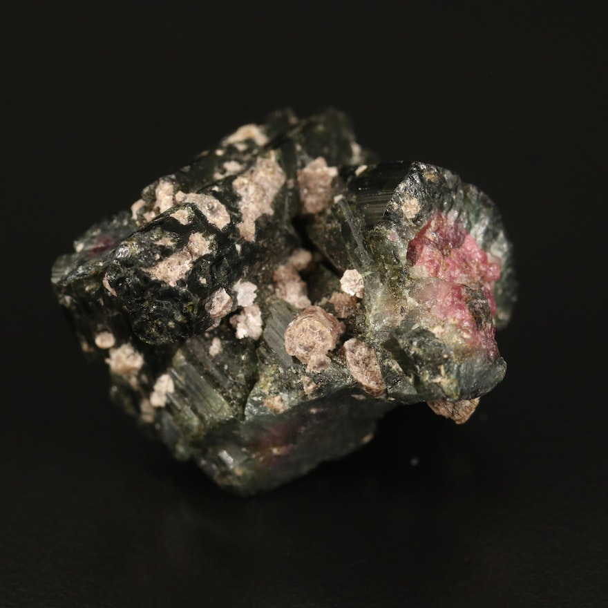 Loose 100.84 CT Rough Watermelon Tourmaline