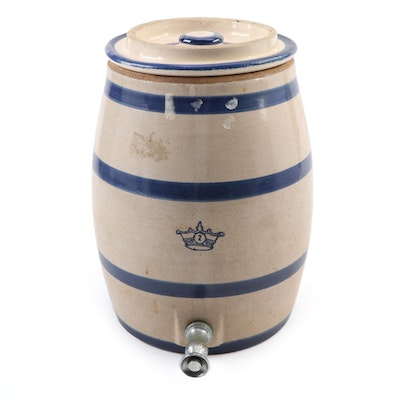 Robinson Ransbottom Two-Gallon Stoneware Water Dispenser