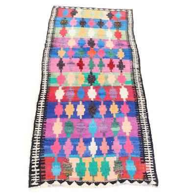 5'4 x 11'3 Handwoven Persian Wool Kilim Rug