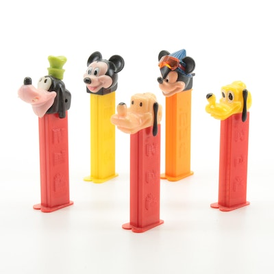 "PEZ Dispensers Including ""Mickey Mouse"" and ""Pluto"""