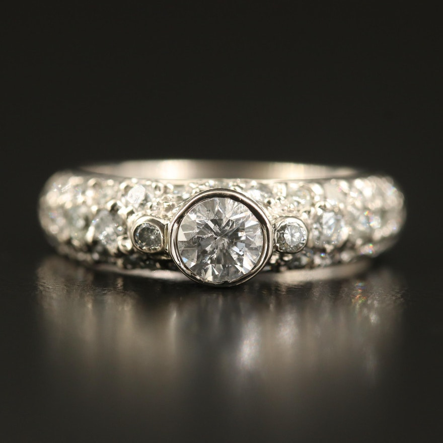 14K 1.59 CTW Diamond Ring
