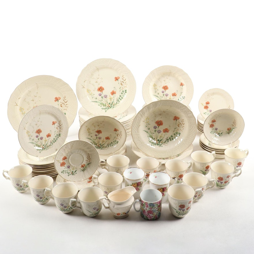 """Mikasa """"Marguax"""" Fine Ivory China Dinnerware and More, Late 20th Century"""