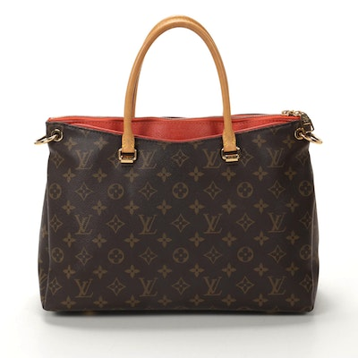 Louis Vuitton Pallas BB Monogram Canvas and Calf Leather