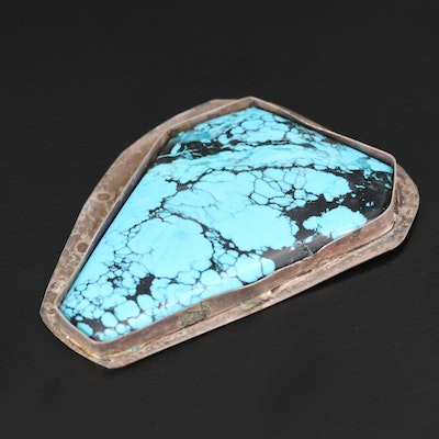 Sterling Silver and Turquoise Jewelry Finding