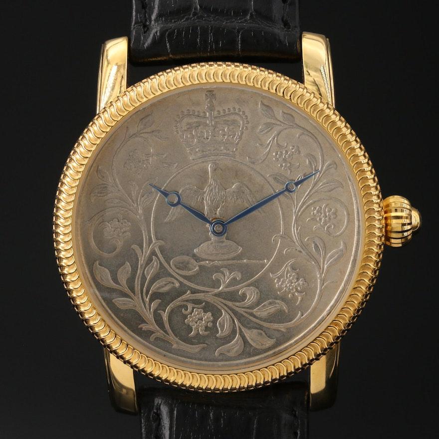 Stainless Steel Stauer Jubilee Wristwatch