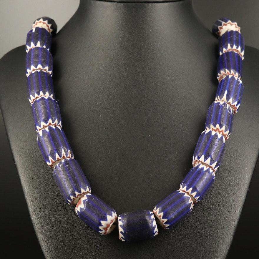 Venetian Four Layer Chevron Trade Beads