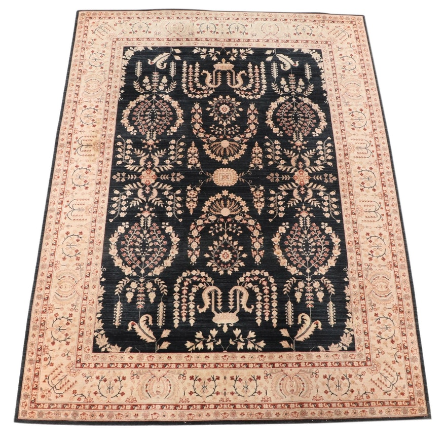8'1 x 11'1 Hand-Knotted Chinese Wool Area Rug from The Rug Gallery