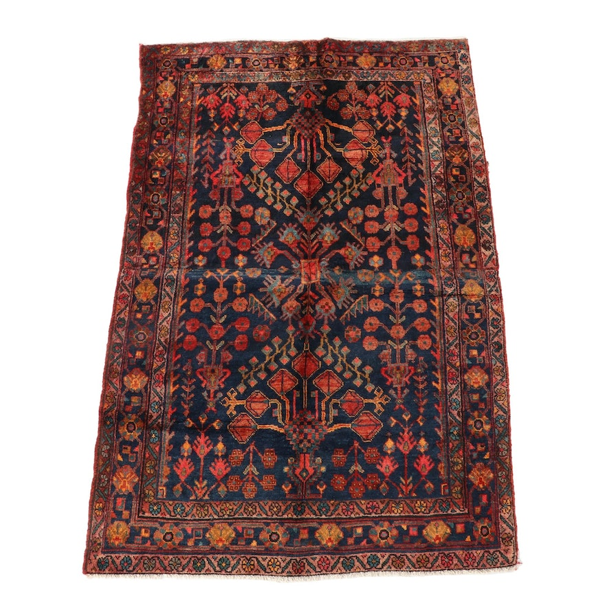 5'1 x 7'11 Hand-Knotted Northwest Persian Wool Area Rug