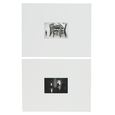 William D. Wade Silver Gelatin Photographs of Art Galleries, Late 20th Century