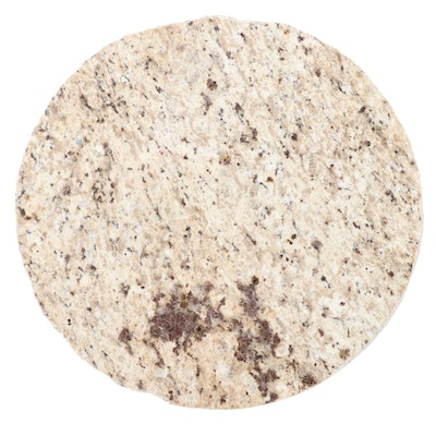 Serving Slabs Round Cut Granite Lazy Susan