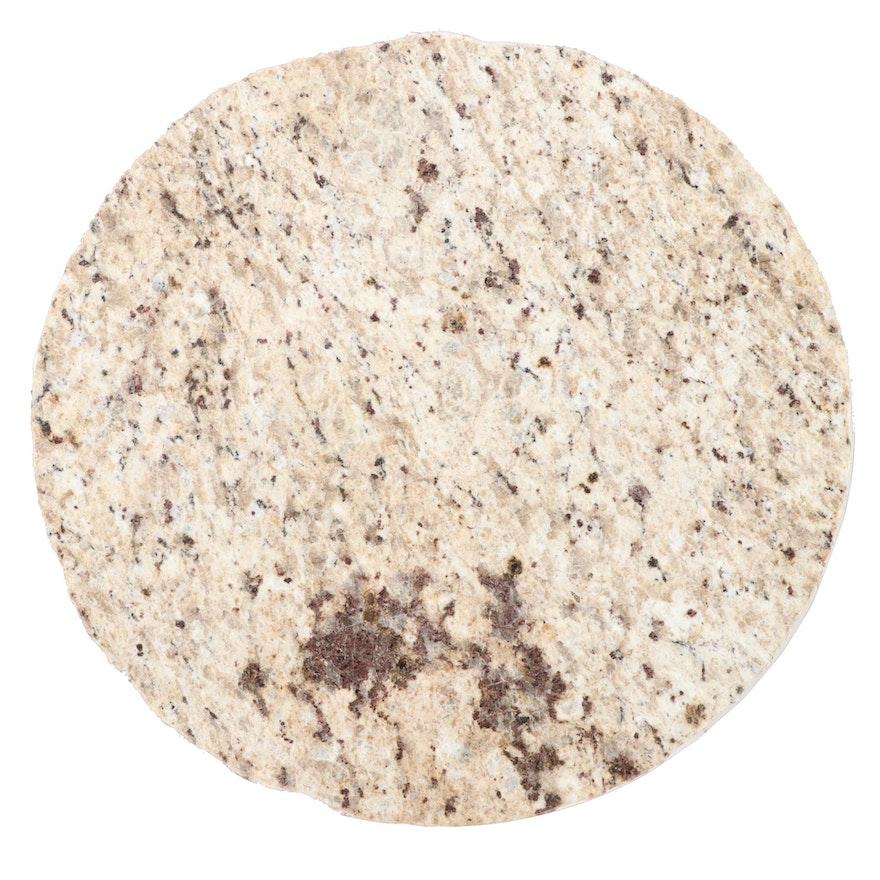 Serving Slabs Round Cut Granite Lazy Susan