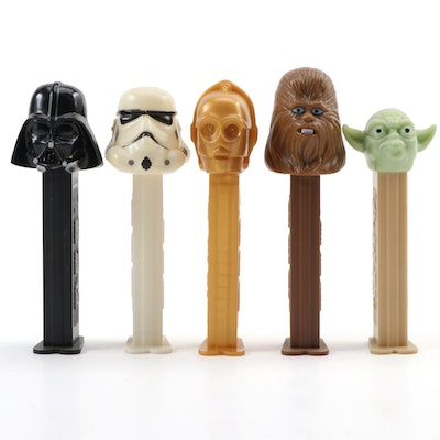 """PEZ Dispensers Including """"Darth Vader"""", """"Yoda"""", """"C3PO"""", and More"""