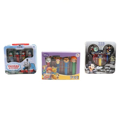 """PEZ Dispensers Featuring """"Mickey Mouse 80 Years"""", """"Thomas and Friends"""" and More"""