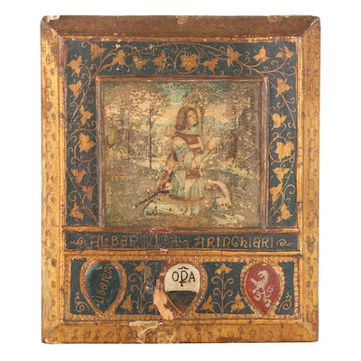 Knight of the Order of Malta Reproduction Painting after Pinturicchio
