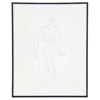 """André Derain Lithograph for """"Derrière le Miroir,"""" 1957"""