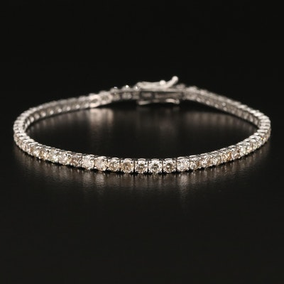 14K 5.48 CTW Diamond Tennis Bracelet
