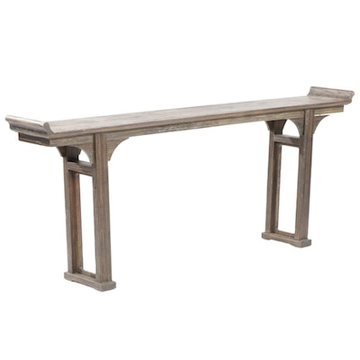 Ballard Designs Chinese Temple Style Console Table