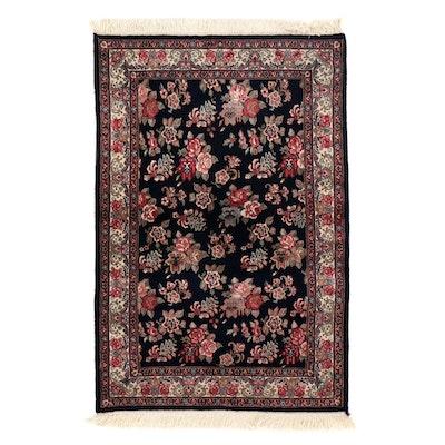 3'11 x 6'5 Hand-Knotted Pakistani Persian Bijar Area Rug, 2000s